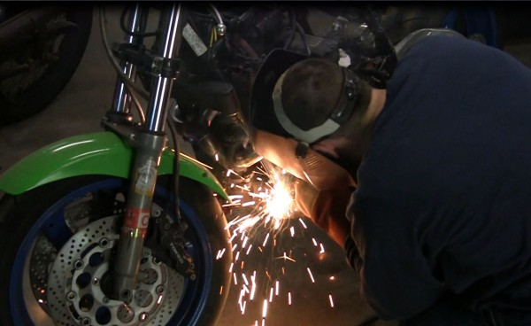 Welding on a Motorcycle Highlight Shortage of Welders