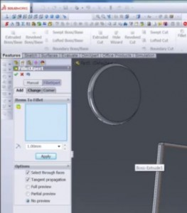 FilletExpert SolidWorks 2013 Video Tutorial Screenshot