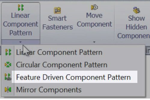 Feature Driven Component Pattern
