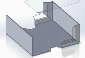 SolidWorks Sheet Metal Part 2 Video Tutorial Screenshot