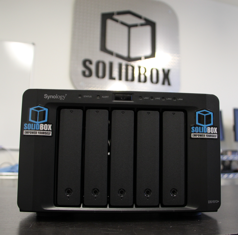 SolidBox Scalable NAS Options