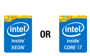 Intel Xeon vs. Core i7